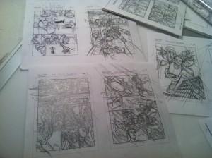 Jamal Igle layouts