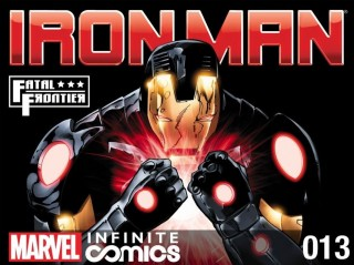 Iron Man Fatal Frontier #13 cover