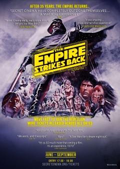 SECRET CINEMA STAR WARS POSTER - SF Quotes
