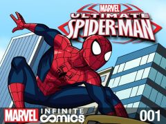 Ultimate Spider-man 1 cover