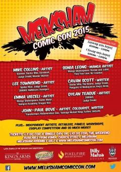 Melksham Comic-Con 2015