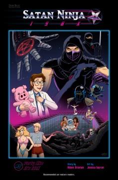 Satan Ninja 198x 2 cover