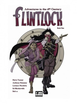 FLINTLOCK#1 PREVIEW cover