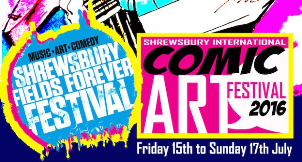 Shrewsbury Comic Festival