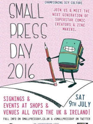 Small press Day 2016