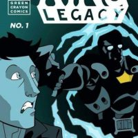 """With our powers combined we're like a giant Japanese themed combination robot"" King Legacy's Jay Frettingham on making comics with his brother and winning the Small Press Factor"