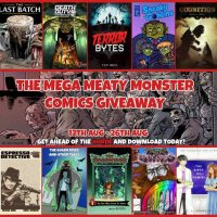 Get FREE indie comics in the Mega Meaty Monster Comics Giveaway!