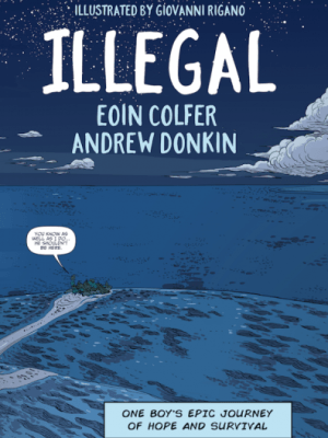 """""""When you see statistics about boats sinking it's hard to remember that every one of those numbers is a human being"""" Andrew Donkin discusses the real world inspirations for his and Eoin Colfer's graphic novel Illegal"""