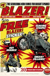 Review: Blazer #1 (The 77 Publications)