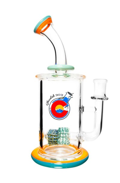 CAM05 Silver Aqua x Orange