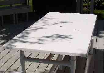 Fiberglass Outdoor Tables And Bars With PVC Bases PIPEFINEPATIOFURNITURE