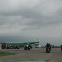 Leaving Maple Lake Mn- Ride for Autism 2014