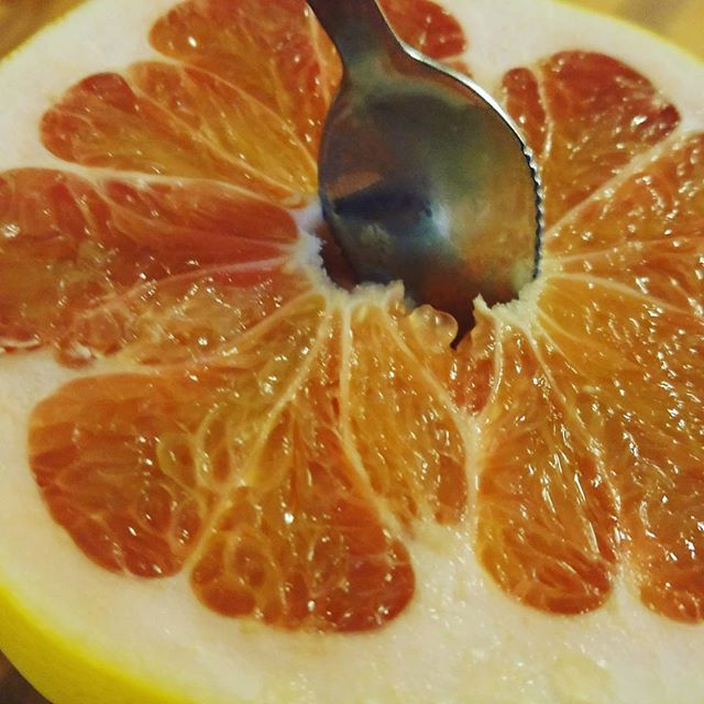Citrus Maxima #Pomelo #FruitDiet #RawFood Yum!!! #PhotoOfTheDay