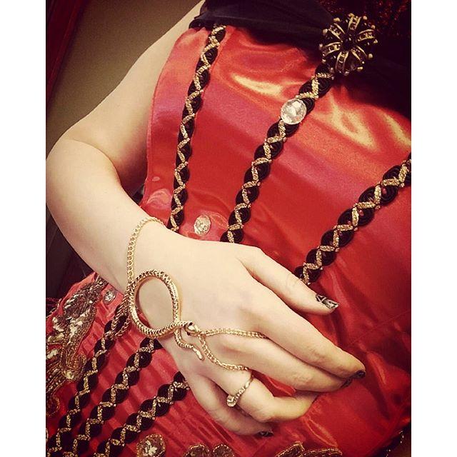 I love this corset!! #vintage #circus #snakelady