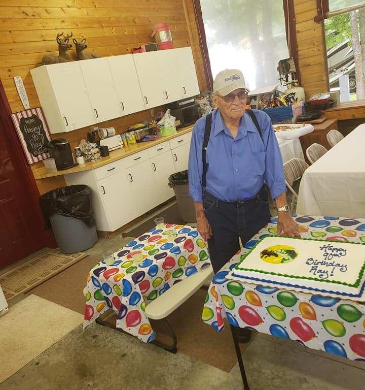 Grandpa Turns 90