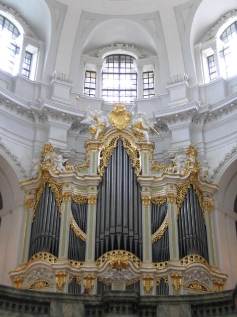 Hofkirche organ, photo by LvE
