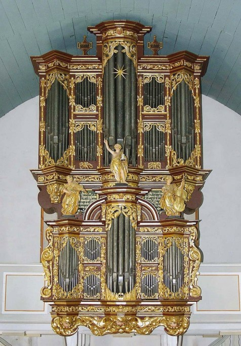 Cappel organ, photo by Beate Ulich