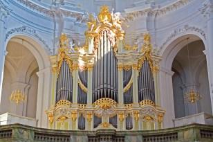 Hofkirche organ, photo by Timo Sack