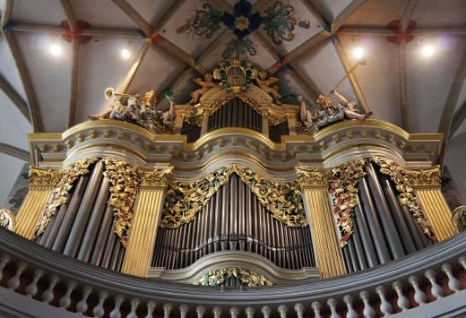 Freiberg organ, photo by Paulis