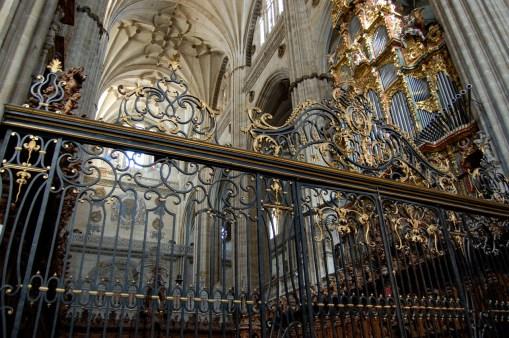 Salamanca organ, photo by Alberto Alvarez-Perea