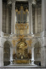 Versailles organ, photo by Maximillian Puhane