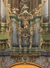 """Herzogenburg organ detail, photo by """"Uoaei"""""""