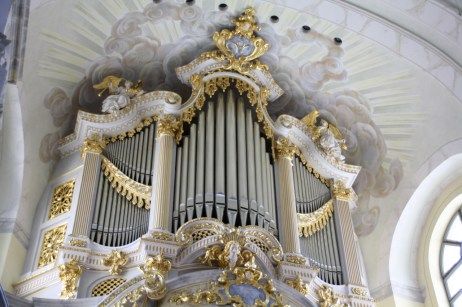 Frauenkirche organ, photo by Bconrads