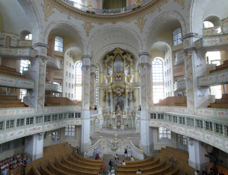 Frauenkirche organ, photo by Roland Geider