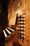 Bremen organ console, photo by Jürgen Howaldt