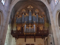 Montpellier organ, photo by João Valério
