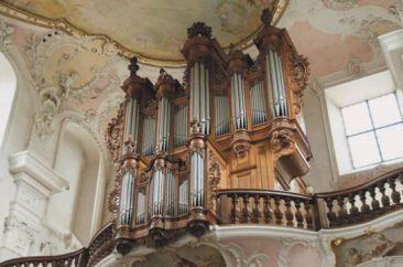 Arlesheim organ, photo by Alois Schuler
