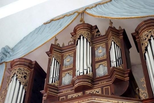 Steinkirche organ, photo by Hans-Jörg Gemeinholzer
