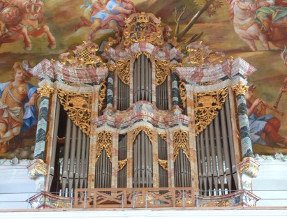 Wolfegg organ, photo by Andreas Praefcke
