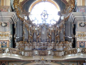 Bressanone organ, photo by Ugo Franchini