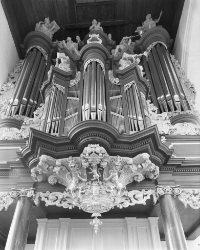 Leeuwarden organ, photo by Ton van der Wal