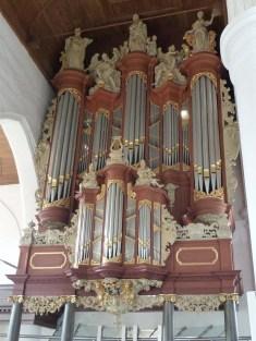 Leeuwarden organ, photo by Bouwe Brouwer