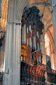 Sevilla organ, photo by Hans-Jörg Gemeinholzer