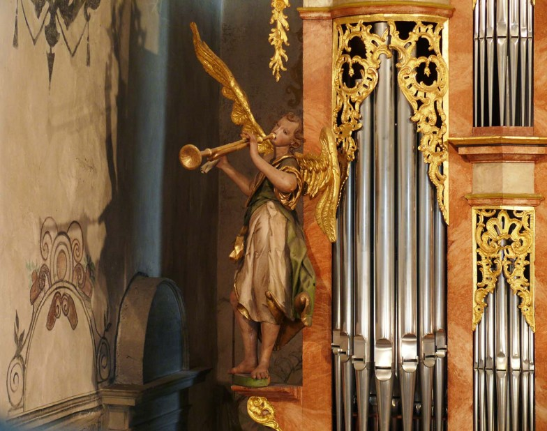 Amanduskirche organ, photo by Roman Eisele