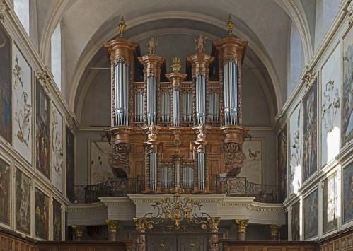 Toulouse organ, photo by Didier Descouens