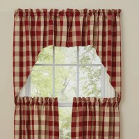 Country Curtains | Wicklow Barn Red Swags