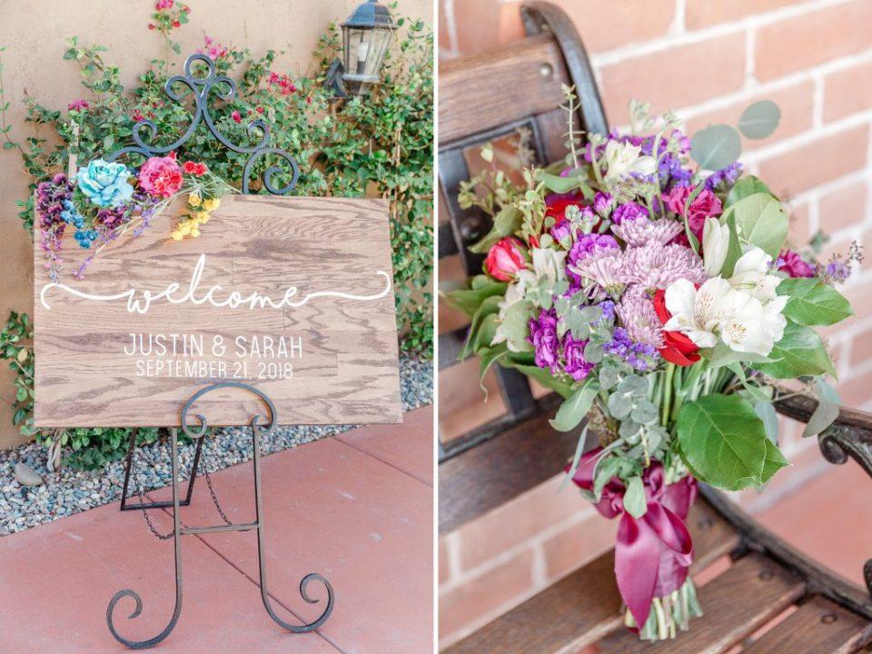 Stillwell House & Garden in Tucson Wedding