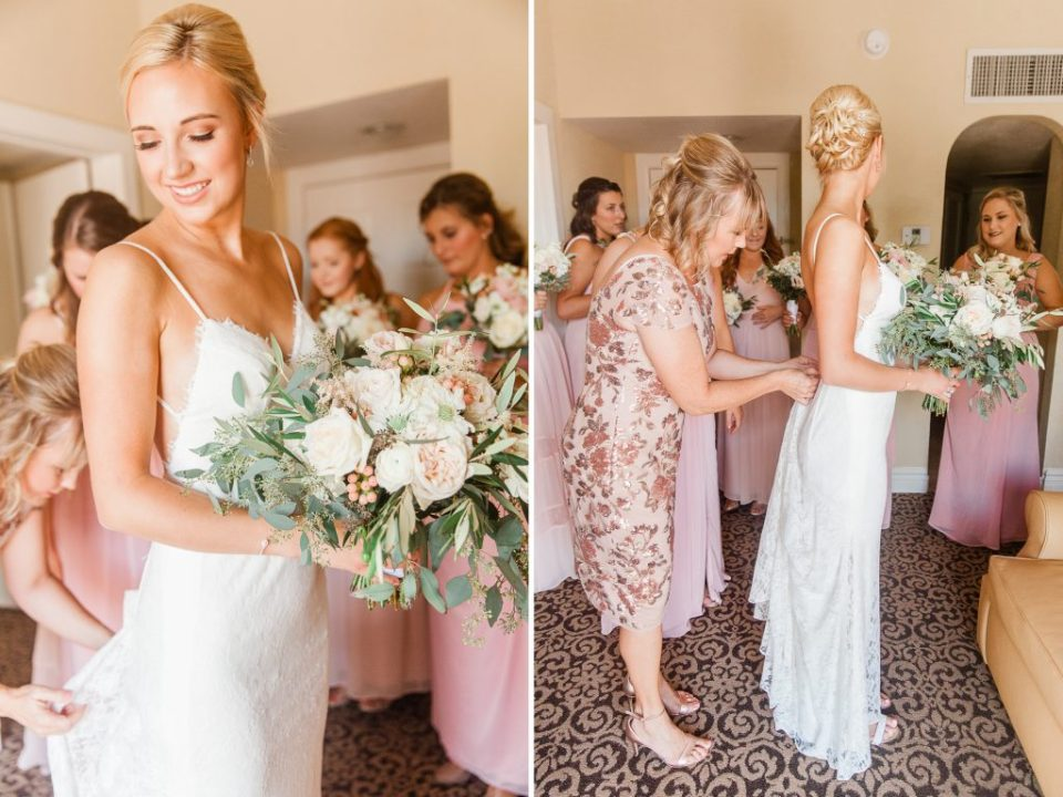 Wedding at Westward Look. Bridal Preparation at Gadabout Salon. First look and ceremony at Westward Look Resort in Tucson Arizona