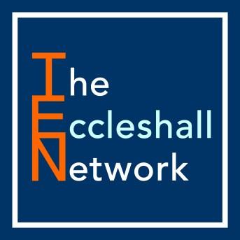 TEN-Stacked-Orange-Light0Blue-Eccleshall-Logo