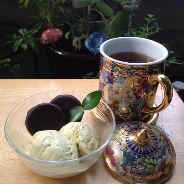 Kaffir Lime Ice Cream