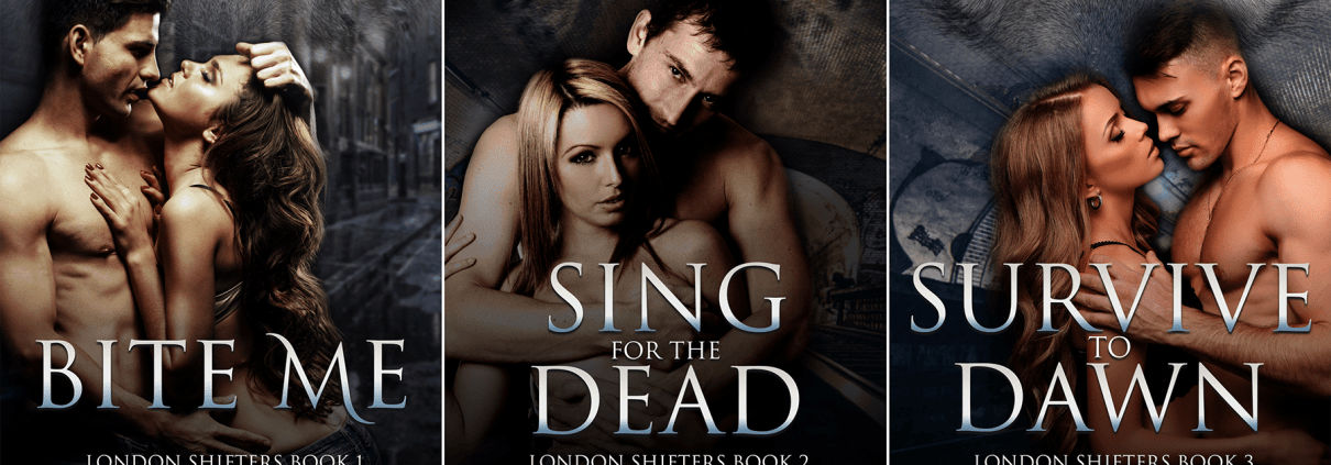 London Shifters series cover art