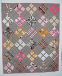 free baby quilt pattern  The Piper's Girls