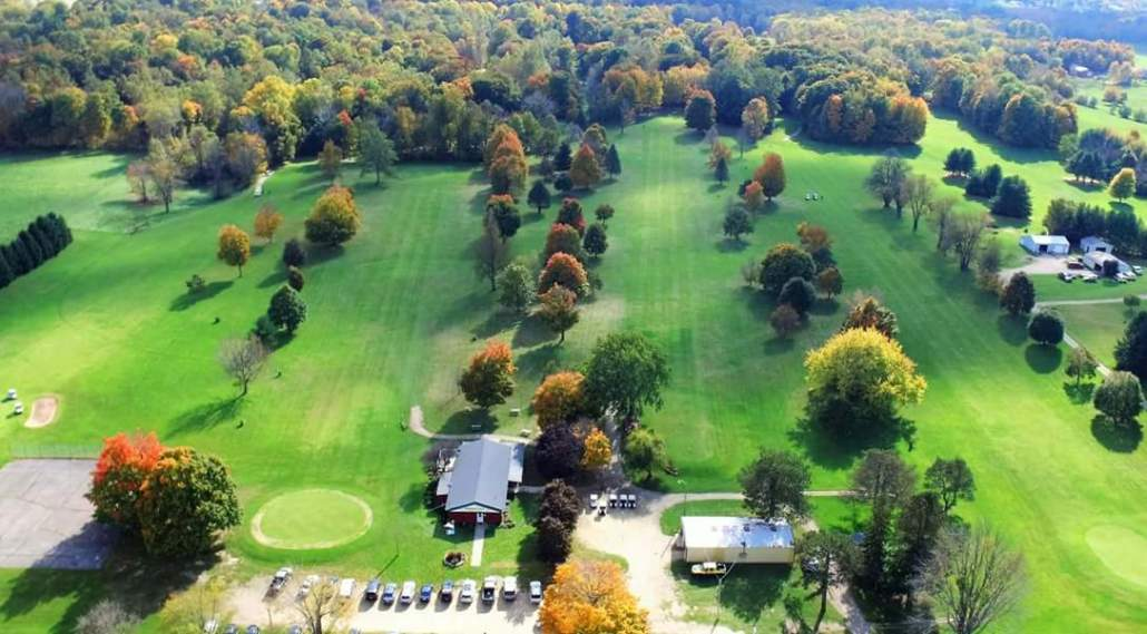 Arial View of Pipestone Creek Golf Course