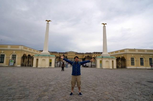 【奧捷自由行】@1-1奧地利維也納-熊布朗宮(Schönbrunn Palace) | 通往天堂的拉麵