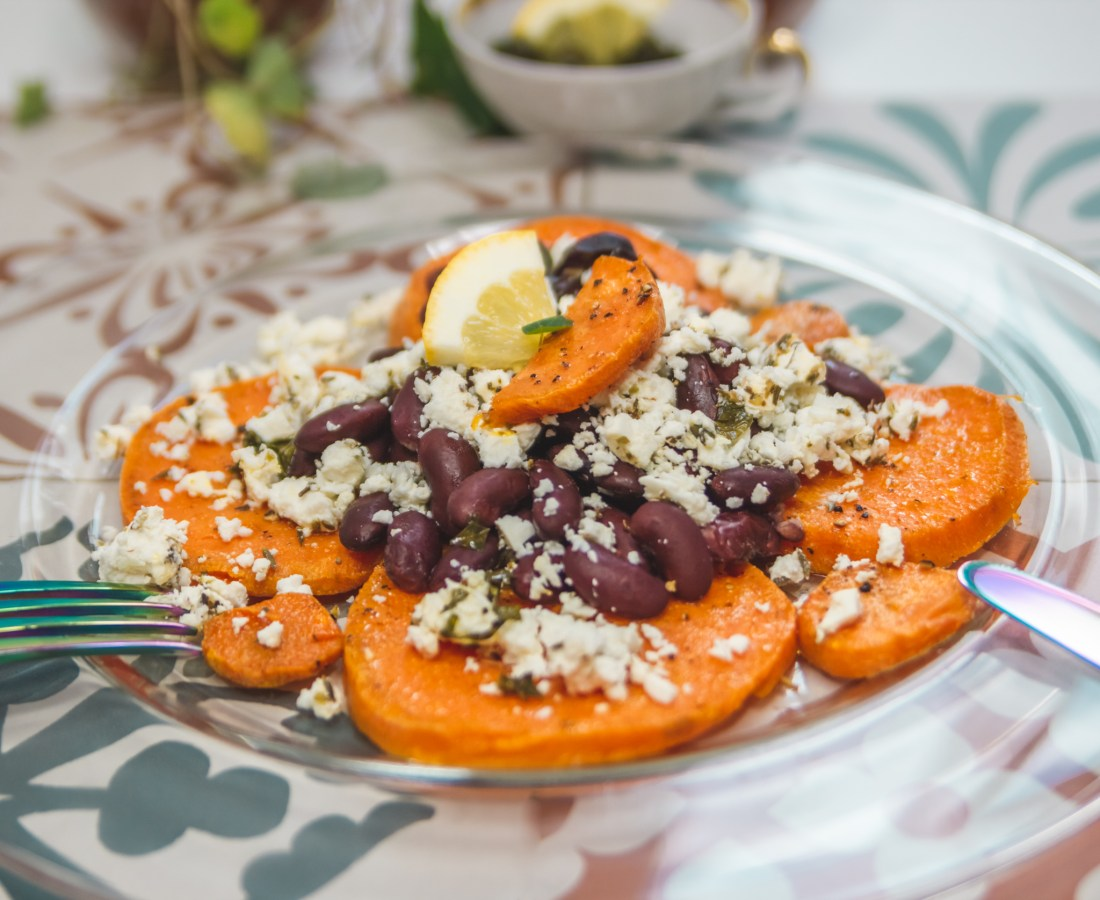 Sommerlicher Sweet Potato Salad