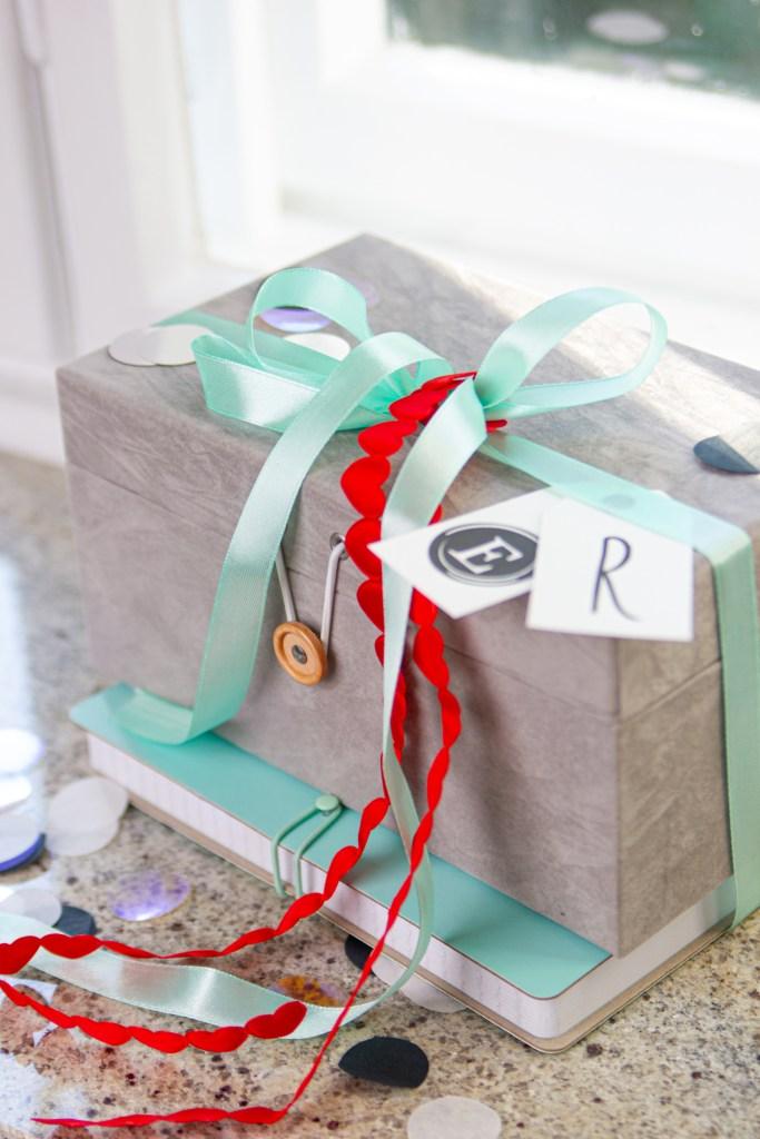 Das perfekte Geschenk fertiggestellt